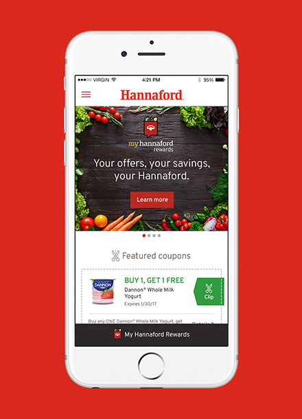 Hannaford Loyalty Mobile App